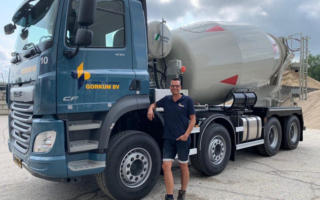 Nieuwe DAF-truckmixer